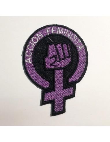 """Parche """" Acción Feminista"""""""