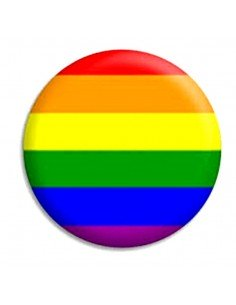 Chapa LGBTI - Orgullo Gay - Arcoiris