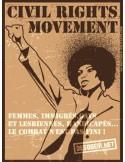 Pegatina CIVIL RIGHTS MOVEMENT
