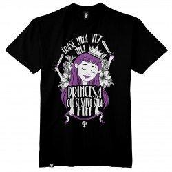 Camiseta Érase una vez una princesa que se salvó sola. FIN