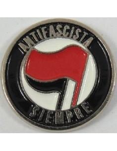 Pin Antifascista siempre