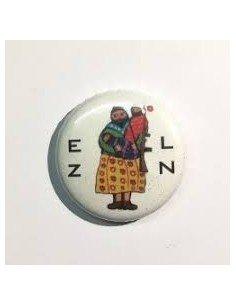 Chapa mujer zapatista