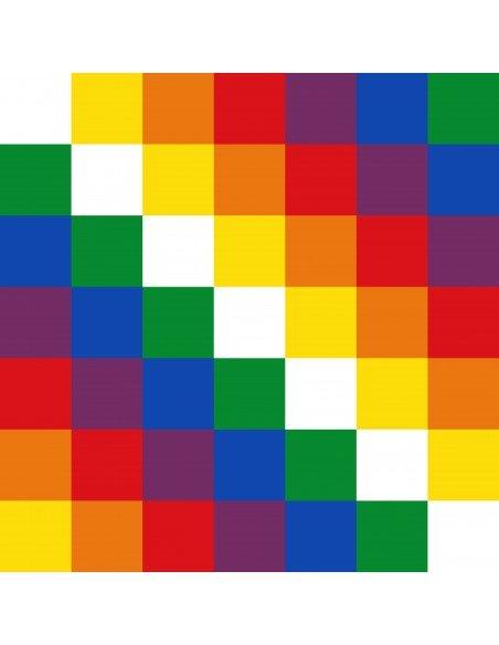 Bandera Wiphala (estampado)