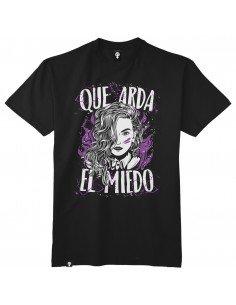 Camiseta Que arda el miedo