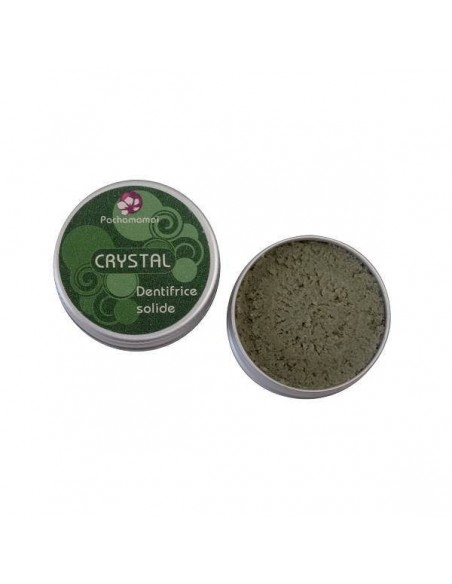 Pasta dental natural sólida Crystal