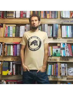 Camiseta black panther party, panther power