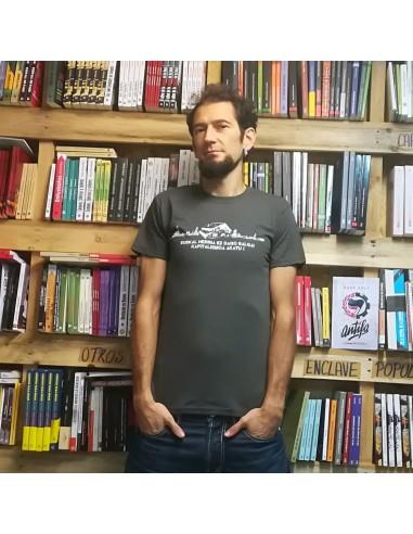 Camiseta Euskal Herria Ez Dago Salgai Kapitalismoa Akatu