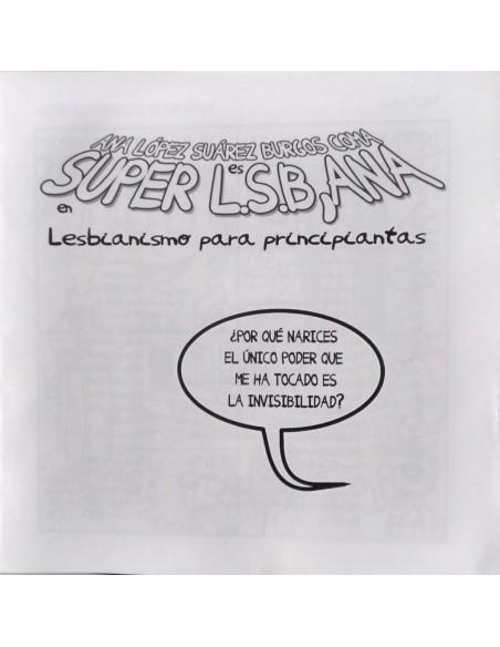 Super L.S.B, Ana. Lesbianismo para principiantas