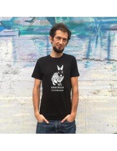 Camiseta Beganismo kapitalistak ez du espezismoa suntsituko