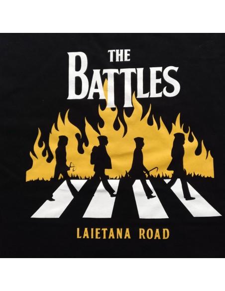 Camiseta The battles. Laietana road