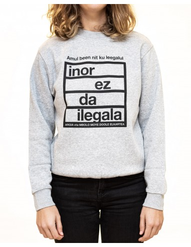 Sudadera Inor ez da ilegala