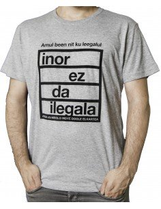 Camiseta Inor ez da ilegala