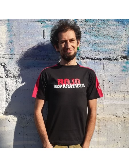 Camiseta rojo separatista