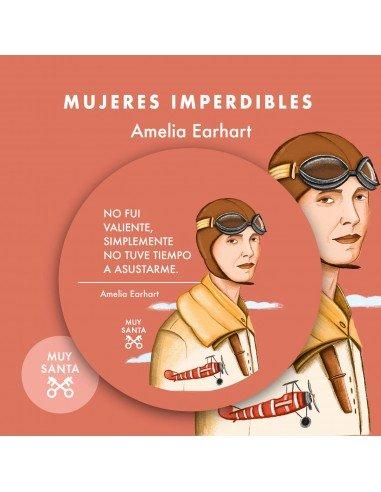 Chapa Amelia Earhart