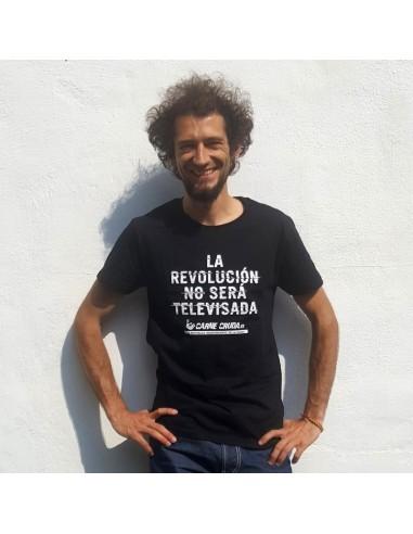 Camiseta La Revolución no será televisada