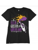 Camiseta a ella le gusta la gasolina