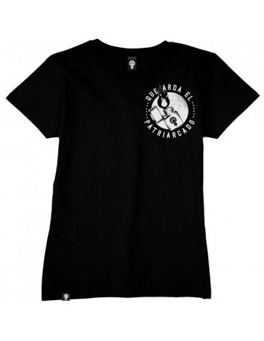 Camiseta que arda el patriarcado
