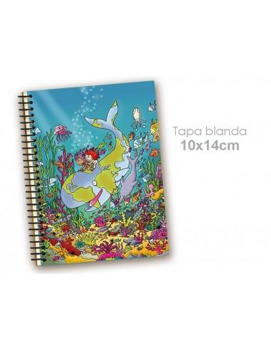 Cuaderno bajo el mar