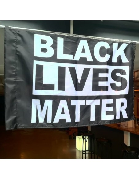 Bandera Black Lives Matter