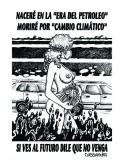 Pegatina Cambio Climático