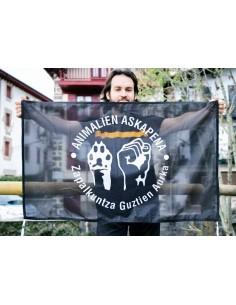 Bandera liberación animal
