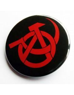 Chapa Anarquismo y Comunismo