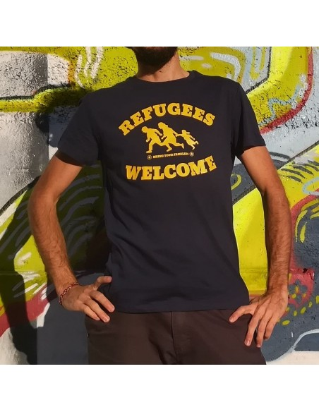 Camiseta Refugees Welcome