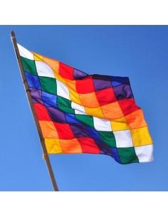 Bandera Wiphala - Igualdad y Unidad en la Diversidad