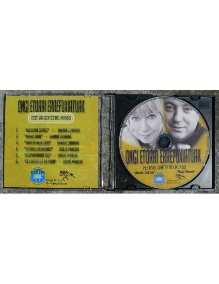 CD Ongi Etorri Errefuxiatuak - Festival Gentes del mundo
