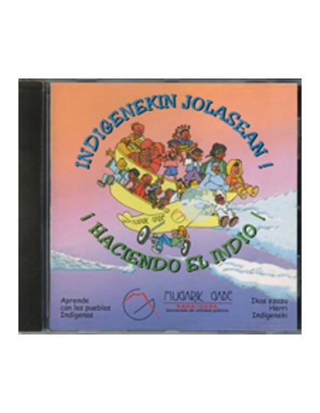 CD Juego multimedia Haciendo el indio!