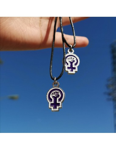 Colgante símbolo feminista