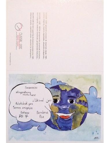 Postal solidaridad