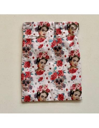 Funda para mascarilla de Frida Kahlo