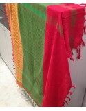Pashmina kurda tricolor
