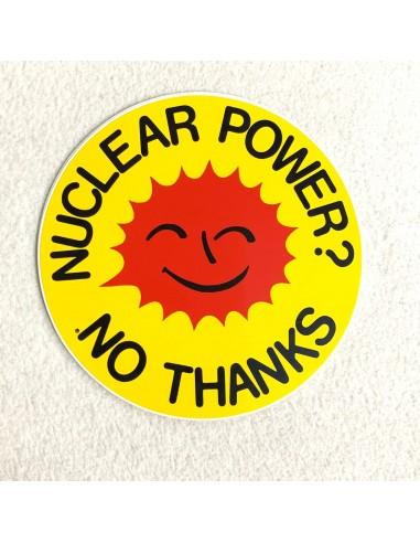 Pegatina Nuclear power? No thanks