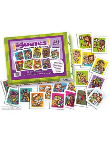 Iguales - Juego 4-6 años