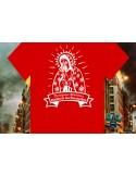 Camiseta Virgen de las barricadas protegenos