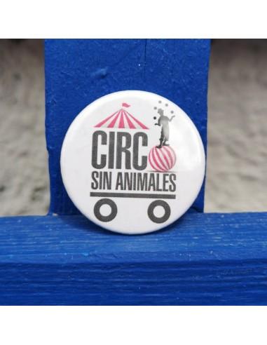 Chapa Circo sin animales