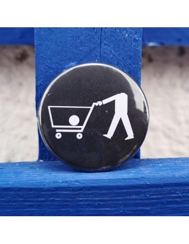 Chapa carrito de compras - Anticonsumo