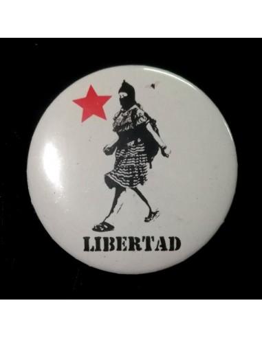 Chapa Libertad zapatista