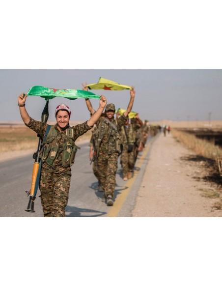 Un verano kurdo. Historias de resistencia al ISIS,  a la ocupación y al exilio
