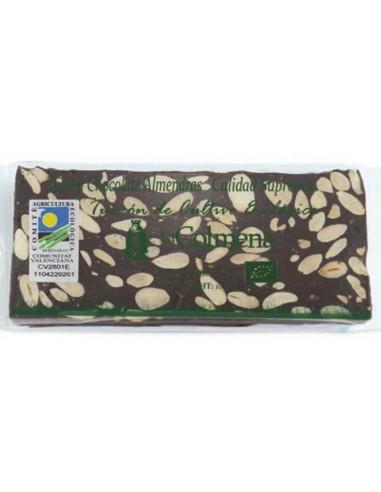 Turrón Chocolate Almendras Ecológico