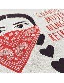 Camiseta EZLN - Cuando una mujer avanza, ningún hombre retrocede