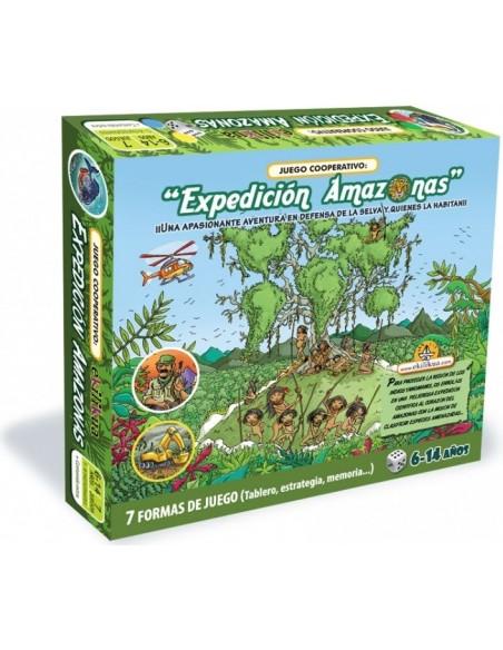 Expedición Amazonas - Juego cooperativo - 6-14 años