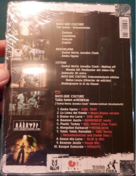 Bass-que Culture: Euskal Herria Jamaika Clash DVD (Documental y video clips)