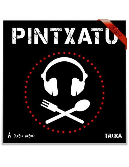 Pintxatu - Libro + CD