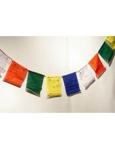 Bandera de plegaria - guirnalda tibetana