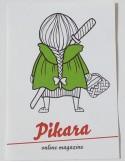 Pegatina Pikara - Caperucita roja
