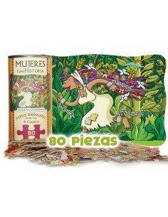 Puzzle + Ipuina: Historiako Emakumeak (Zimarroia)