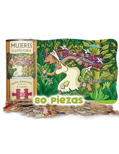 Puzzle + Ipuina: Historiako Emakumeak